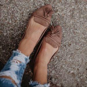 Refresh Shoes - 🍃🌸Final Price: Beautiful Camel Tassel Flats🌸🍃